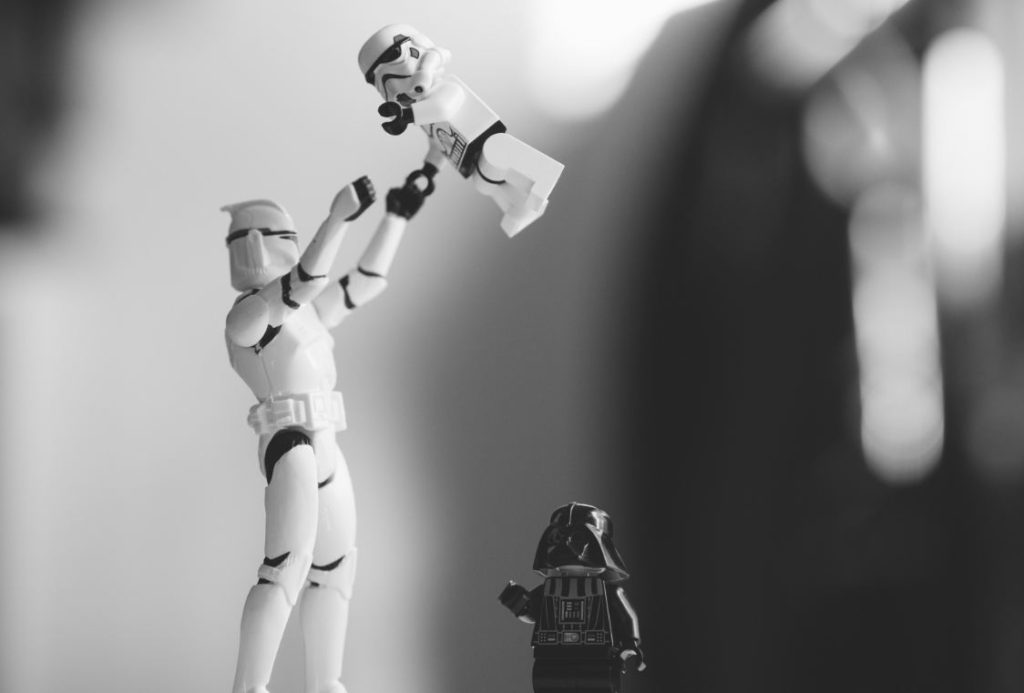 chase your dreams - Stormtrooper family