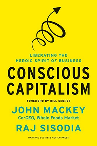 conscious capitalism - best entrepreneurship books