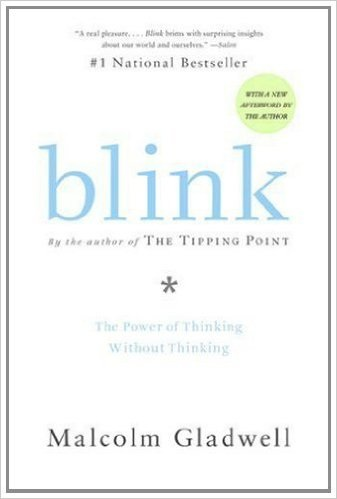Blink by Malcom Gladwell - best entrepreneurship books