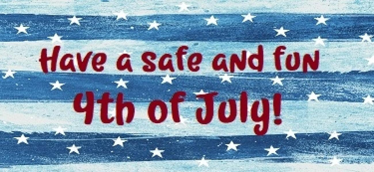 Fourth Of July Blue Church Worship Background