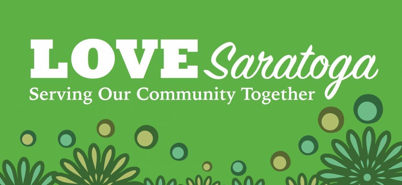 Love Saratoga Logo Phot