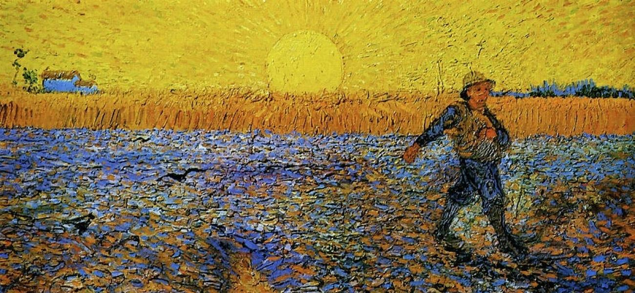 The Sower Van Gogh