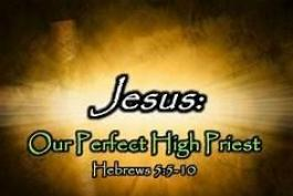 Hebrews and the True High Priest