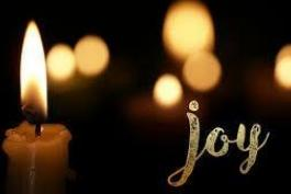 Advent: JOY - 2 Kings 5:1-19