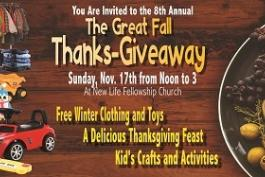 Great Fall Thanks-GiveAway!