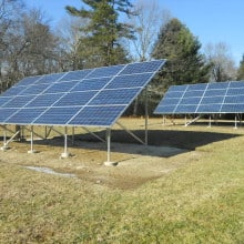 North Scituate Ground Mount System