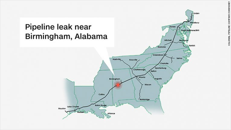Gov. Haslam declares state of emergency due to burst gas pipelin