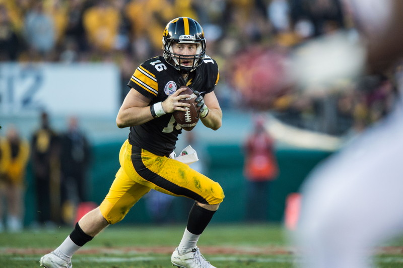 CHECKING IN WITH CHIP: C.J. Beathard aims higher for Iowa