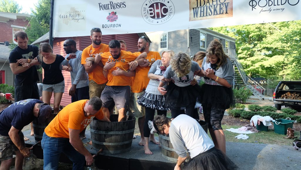 Scene And Heard A Vintage Affair Grape Stomp Franklin