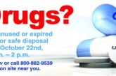 Four county locations open for National Drug Take-Back Day