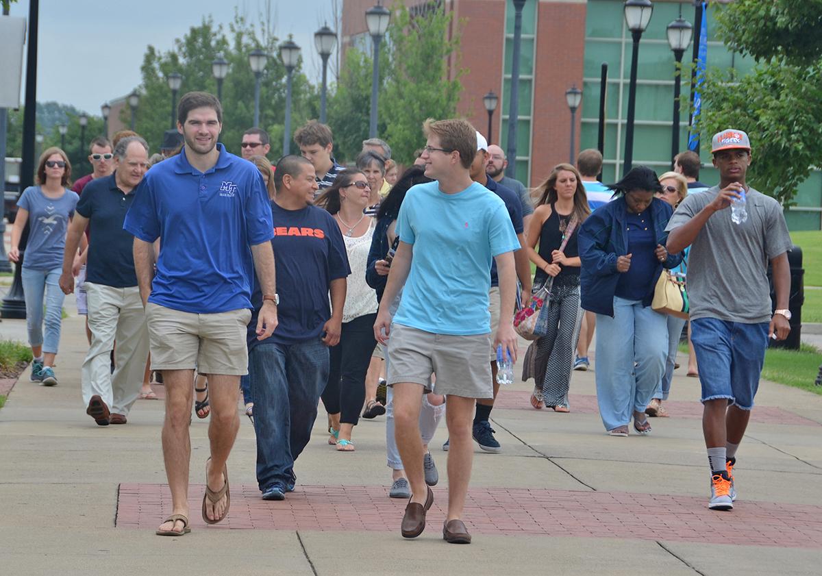 MTSU invites prospective students to tour campus
