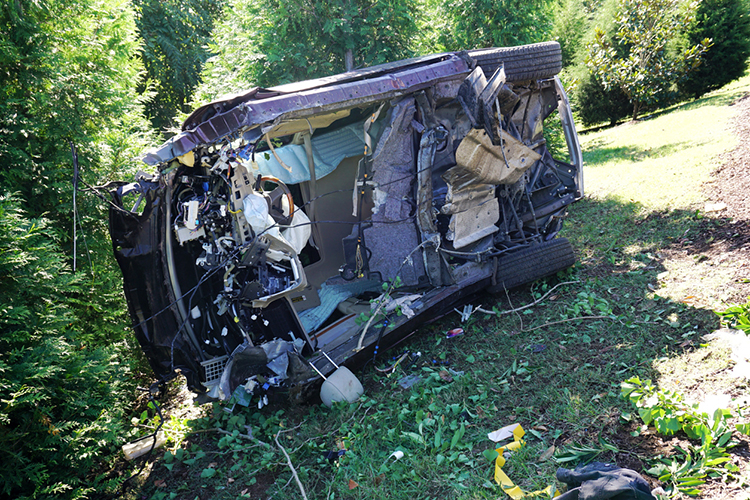 Engine, seats flew 80 feet in crash that injured Brentwood teen