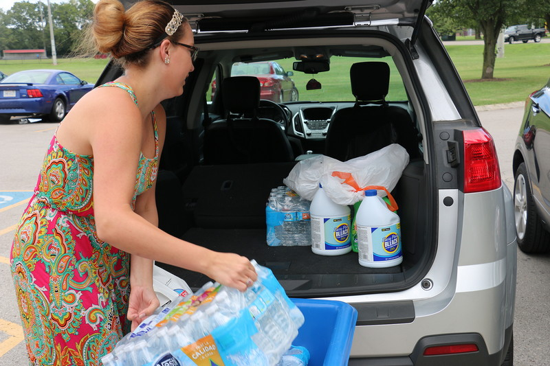 Williamson woman seeks donations for Baton Rouge families