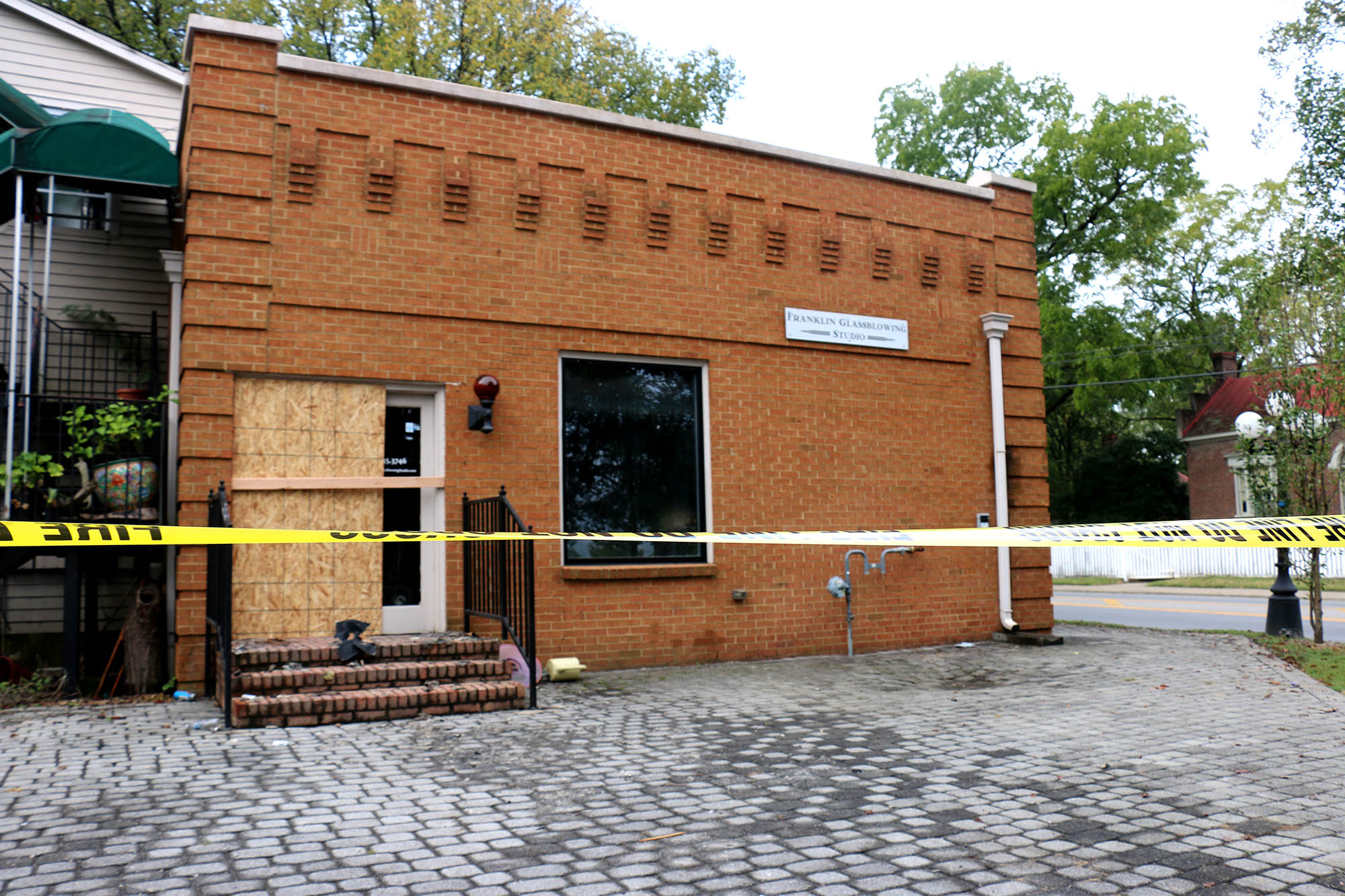 Franklin Glassblowing Studio could be total loss after fire