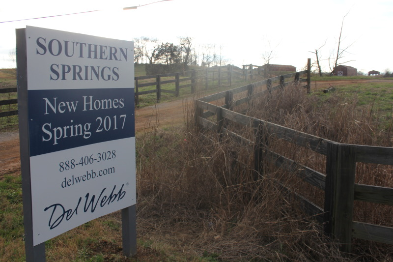 Del Webb Southern Springs development back before planners with 111 homes