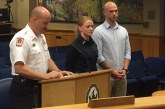 Brentwood swears in third female firefighter to the Brentwood Fire Department