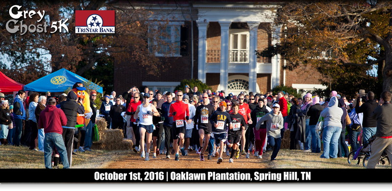 Area runners to gather at Oaklawn Saturday for Grey Ghost 5K