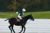 UK Polo team, woman's team, both play at Harlinsdale Sunday