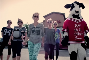 """Texting Yoga Pants"" moms parody minivans in new video"