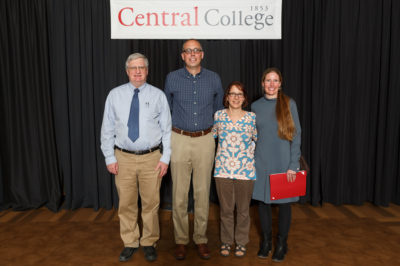 Central Faculty Receive Teaching Awards