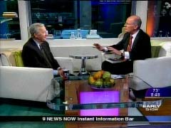 NewsBusters.org | Still Shot of Harry Smith and Roger Mudd, April 24