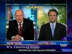 NewsBusters.org | Still Shot of Harry Smith and Chip Reid, April 24