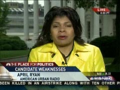 April Ryan on MSNBC, 5/1/2008 | NewsBusters.org
