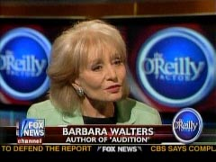 Still shot of Barbara Walters from 5/7/2008