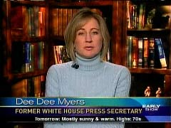 Still Shot of Dee Dee Myers, May 13