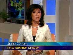 Still Shot of Julie Chen, May 16