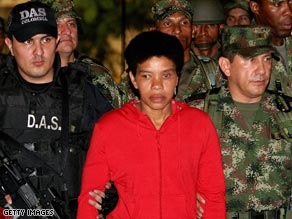 Getty Images photo of FARC terrorist Nelly Avila Moreno | NewsBusters.org