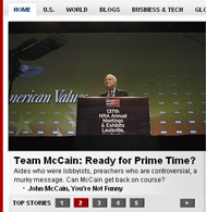 May 29, 2008 Screencap of Time.com | NewsBusters.org