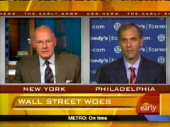 Harry Smith and Mark Zandi, CBS