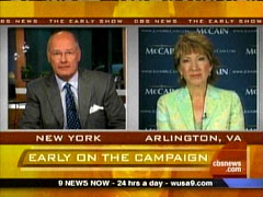 Harry Smith and Carly Fiorina, CBS