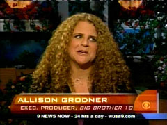 Still Shot of Allison Grodner, CBS