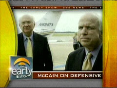 John McCain and Phil Gramm, CBS