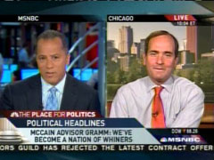 Lester Holt with James Warren, MSNBC News Live | NewsBusters.org