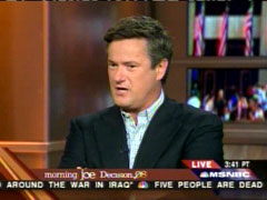 Joe Scarborough, MSNBC