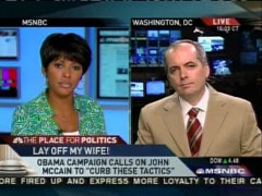 Tamron Hall and Mike Dorning, MSNBC News Live | NewsBusters.org