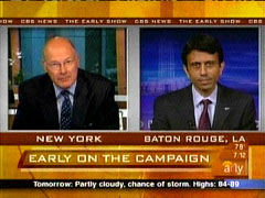 Harry Smith and Bobby Jindal, CBS