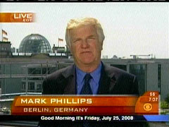 Mark Phillips, CBS
