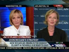 Andrea Mitchell with Nancy Pfotenhauer, MSNBC News Live | NewsBusters.org