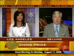 Julie Chen and Barry Petersen, CBS