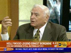 Ernest Borgnine on the 8/12/2008