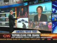 John Roberts, CNN Anchor & Susan Eisenhower, Obama Supporter | NewsBusters,org