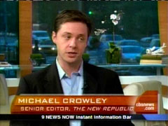 Mike Crowley, New Republic, on CBS