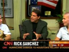 Rick Sanchez, CNN Anchor, and Ben Porter, Georgia Tech Student | NewsBusters.org