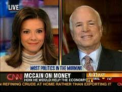 Kiran Chetry, CNN Anchor; and John McCain, Republican Arizona Senator | NewsBusters.org