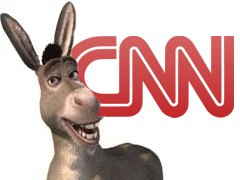 CNN Donkey Graphic | NewsBusters.org