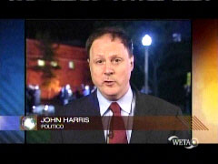 Screen cap of John Harris, 10/2/08 on PBS | NewsBusters.org